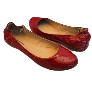 Mossimo Red flat shoes